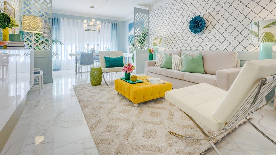 Trellis Living Room - Ana Antunes Interior Designer